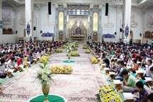 نگاهی به ویژه آیین های حرم حضرت معصومه و مسجد جمکران در ماه رمضان برگزاری آیین ترتیل قرآن تا برپایی سفره افطار