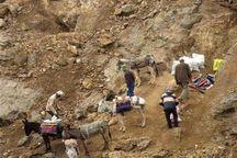 ریزش معدن آلبلاغ اسفراین باز همحادثه آفرید