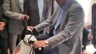 راهاندازی پیک موتوری هوشمند با حضور وزیر کار
