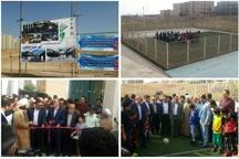 چندین پروژه و کلنگزنی طرح عمرانی در شهر جدید هشتگرد انجام شد