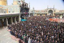 ۲ هزار تن در برگزاری نمازظهر عاشورا مشارکت دارند