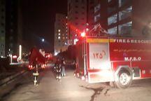 آتش سوزی برج مسکونی در مشهد مهار شد