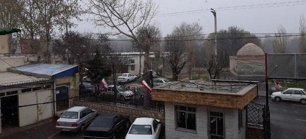 برف بهاری نمین را سفیدپوش کرد
