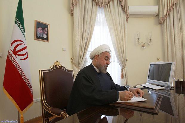 پیام تبریک رییس جمهور به تولیت آستان قدس رضوی