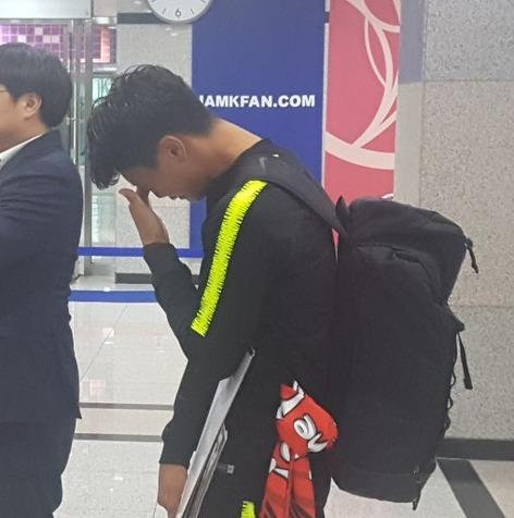 اشکهای بازیکن کره بعد از تساوی مقابل ایران+عکس