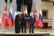 بیانیه روسای جمهوری ایران ، روسیه و ترکیه