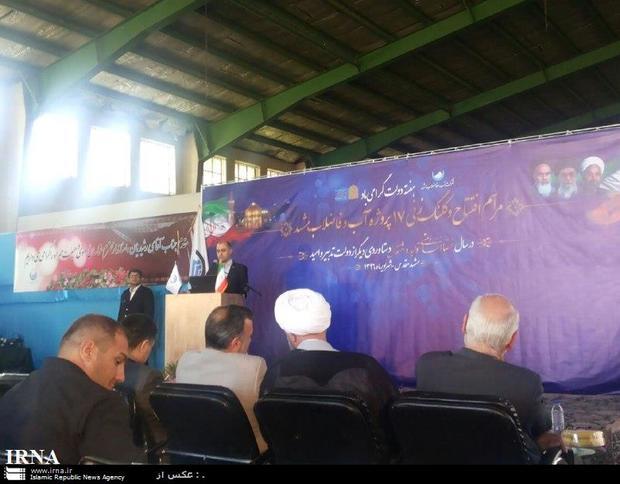 بهره برداری از 13 طرح آب و فاضلاب در مشهد