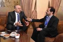 وزیرخارجه ترکیه: حمایت ایران در شب کودتا را فراموش نمیکنیم/ ظریف تا صبح همراه ما بود