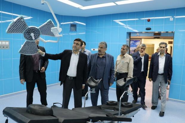 طرح های بیمارستانی در ارومیه تا 2 ماه آینده به بهره برداری می رسد