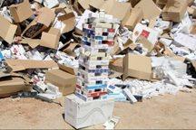32 هزار نخ سیگار قاچاق در قزوین کشف شد
