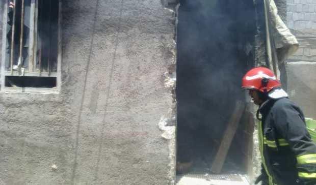 آتش سوزی دو منزل درگناوه یک مصدوم داشت