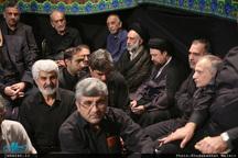 عزاداری صبح عاشورا در حسینیه جماران
