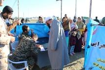ارتش با تمام توان به دنبال رفع مشکل سیل زدگان گلستان است