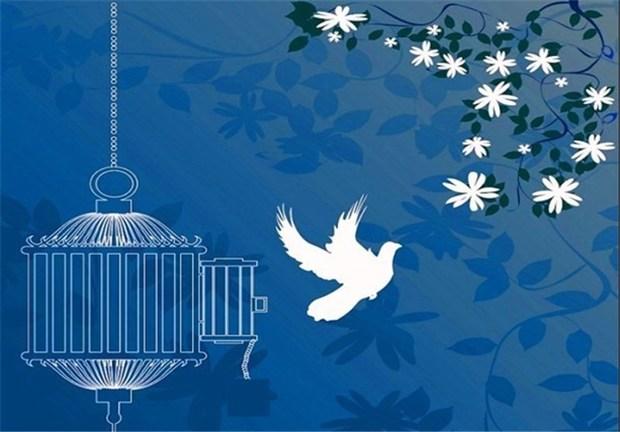 زمینه آزادی یک زندانی توسط همسر شهید فراهم شد