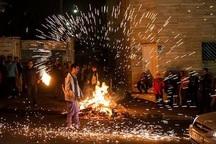12 آتش سوزی در آستارا مهار شد