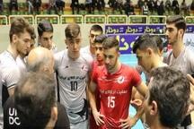 تیم والیبال دورنای ارومیه مقابل شهروند اراک باخت