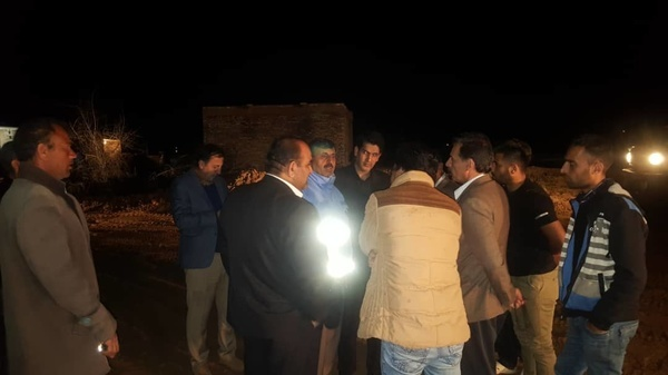 بازدید مسئولان استانی خوزستان از سیل بندهای شهرستان حمیدیه