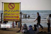 شنا در دریای مازندران تا اواسط هفته ممنوع شد