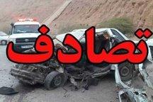 4 نفر در محور پلدختر خرم آباد بر اثر تصادف مجروح شدند