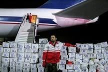 پنجمین محموله کمک رسانی به سیل زدگان وارد فرودگاه اهواز شد