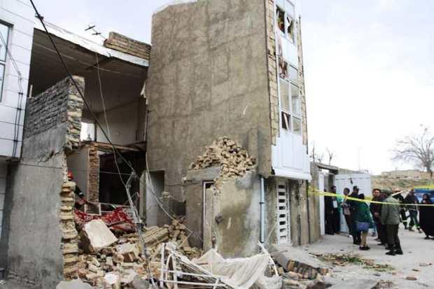انفجار منزل مسکونی 2 مصدوم برجا گذاشت