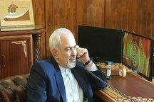 رایزنی تلفنی ظریف با وزرای خارجه قزاقستان، ونزوئلا، برزیل و بولیوی