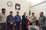 آیین تجلیل از کاراته کا عنوان دار خوزستانی برگزار شد