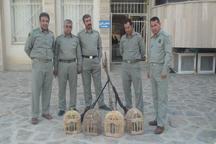 چهار شکارچی متخلف در سروآباد دستگیر شدند