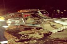 5 کشته و زخمی بر اثر برخورد خودروی پژو با تیرچراغ برق در کرمان