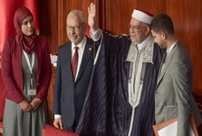 راشد الغنوشی رئیس پارلمان تونس شد+عکس