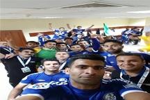 آبی پوشان خوزستان به ایران بازگشتند