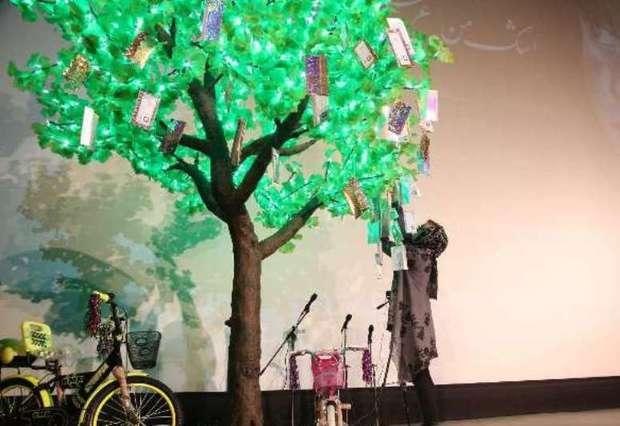 درخت آرزوهای 2 هزار کودک یتیم کردستانی جوانه می زند