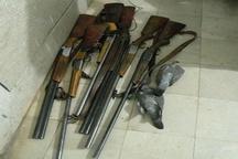دستگیری 6 متخلف شکار در منطقه حفاظت شده