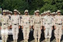 صبحگاه مشترک نیروهای مسلح در سلسله برگزار شد