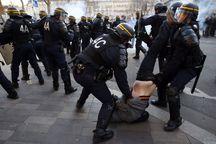 عکس/  سرکوب اعتراضات به سبک فرانسوی