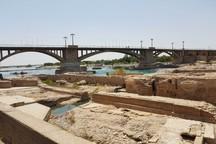 تبلیغ بر روی پل باستانی دزفول تخلف است