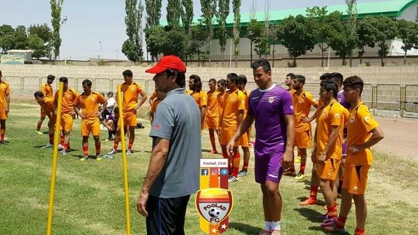 دومین اردوی آمادگی فولاد خوزستان در مجموعه ورزشی هتل المپیک تهران