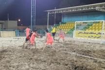مسابقات هندبال ساحلی استان یزد آغاز شد