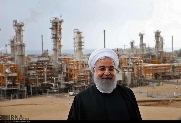 افتتاح رسمی فازهای ۱۳، ۲۲، ۲۳ و ۲۴ میدان گازی پارس جنوبی