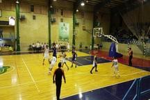 تیم بسکتبال ذوب آهن اصفهان از شیمیدر تهران شکست خورد