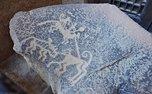 رها کردن سنگ نگاره 1500 ساله در مدرسه!