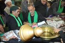 برگزاری آیین سنتی «علم بندان» ماه محرم در بیرجند