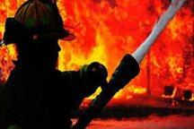انفجار و آتش سوزی در کارخانه ماشین سازی اراک یک مجروح به گذاشت