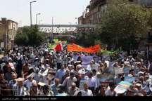 آغاز راهپیمایی باشکوه روز جهانی قدس در قم