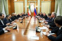 روحانی: از سرمایهگذاری شرکتهای روسی در بخش انرژی ایران استقبال میکنیم/ اروپا باید تاخیرهای خود در اجرای تعهدات را جبران کند/ پوتین: مسکو بدنبال تعمیق همکاریهای خود با تهران است