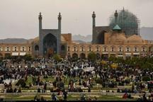 شمار مسافران نوروزی اصفهان 14 درصد افزایش داشت