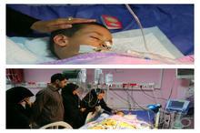 اهدای اعضای بدن یک کودک مرگ مغزی به بیماران نیازمند