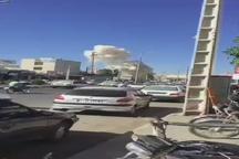 تصاویری از لحظات پس از انفجار خودرو بمب گذاری شده در چابهار