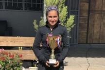دختر تنیسور ارومیه ای به عضویت تیم ملی نوجوانان درآمد