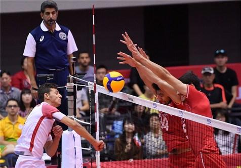 آمار بازی ایران و تونس در جام جهانی والیبال